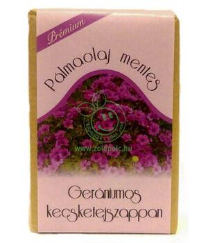 Kecsketej kézi szappan pálmaolajmentes (geránium)