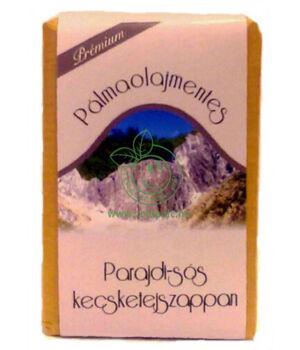 Kecsketej kézi szappan pálmaolajmentes (parajdi sós)