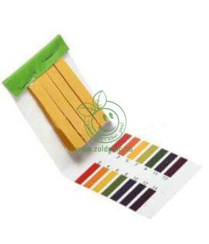 pH mérő papír 80db