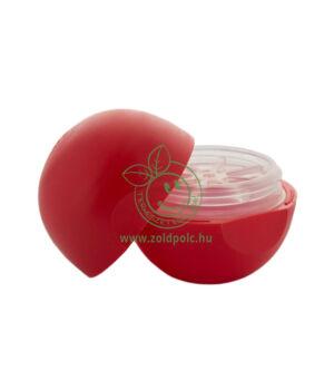 Tojás alakú szájfény tégely (piros, 7,4ml)