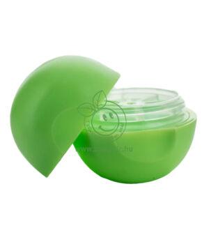 Tojás alakú szájfény tégely (zöld, 7,4ml)