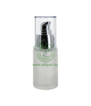 Krémadagoló, matt, üveg (30ml)