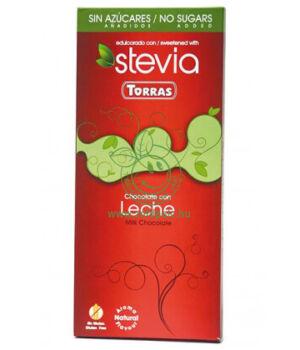 Tejcsokoládé steviával, Torras