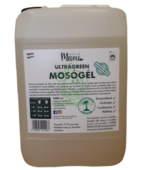 UltraGreen Mosógél (illatmentes,5l)