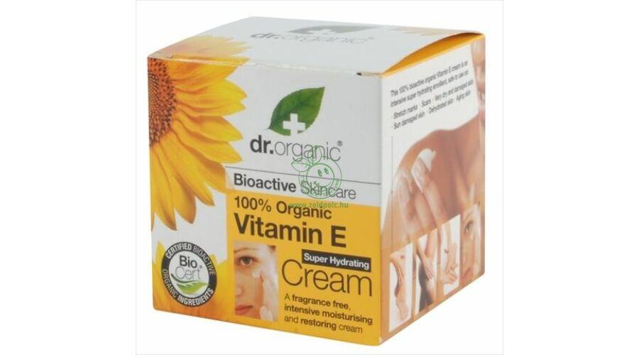 88ece06ca1 Dr. Organic szuper-hidratáló krém (E vitamin) - öko és natúr termékek