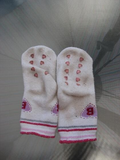 Koszeltávolítás - enyhén koszos zokni