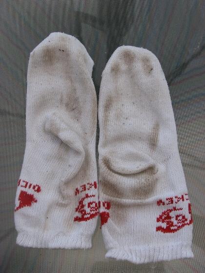 Koszeltávolítás - közepesen koszos zokni