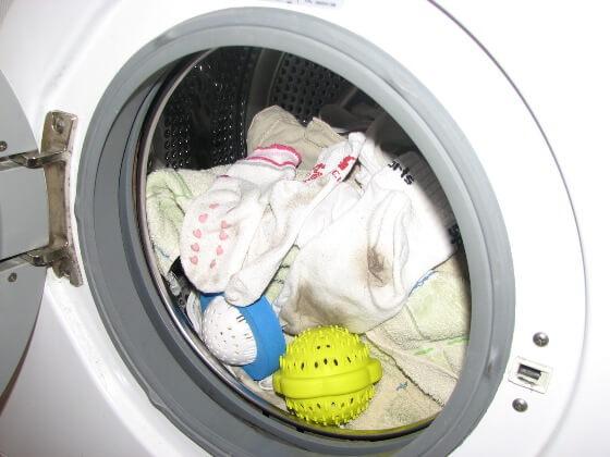 Koszeltávolítás - mosás mosógolyóval