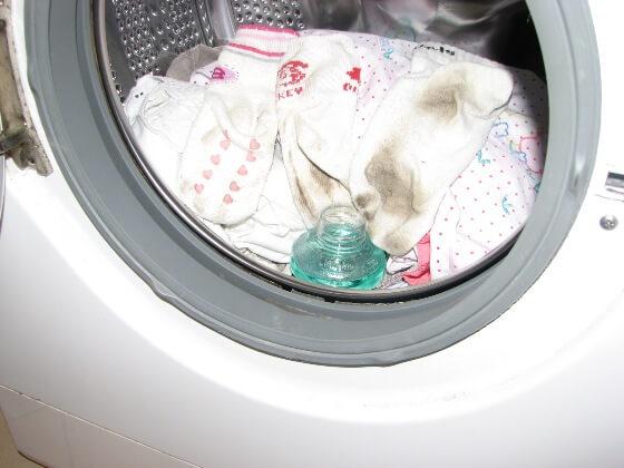 Koszeltávolítás - mosás mosószerrel