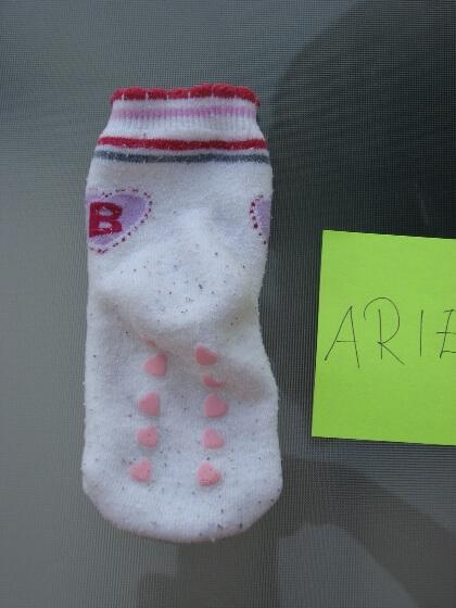 Koszeltávolítás - mosószer mosás, enyhén koszos zokni